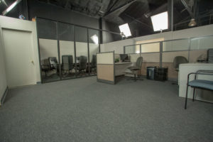 office standing set los angeles