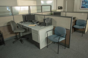 office standing set in los angeles