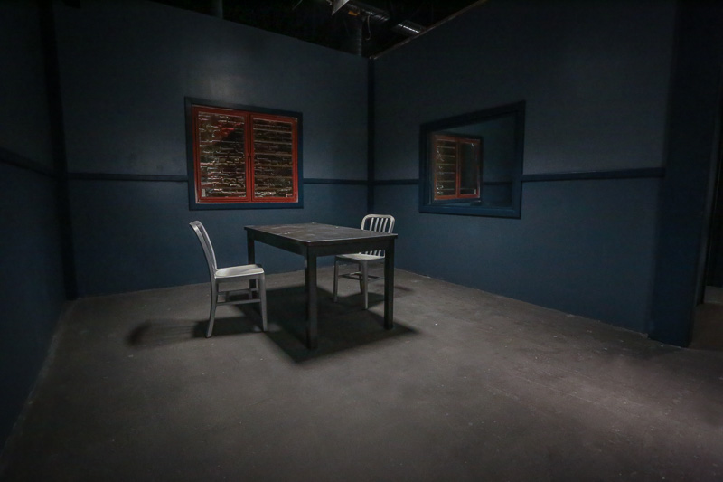 interrogation room standing set