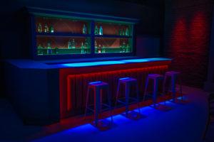 modern bar standing set in la