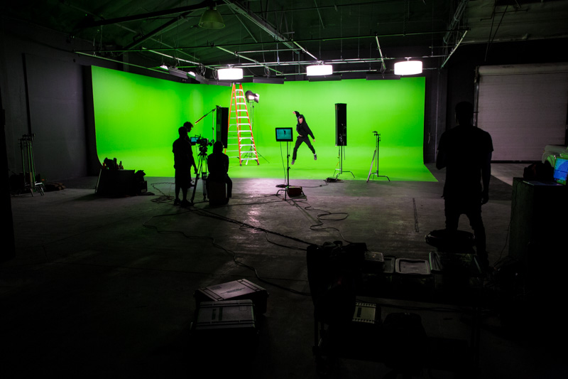 green screen cheap la