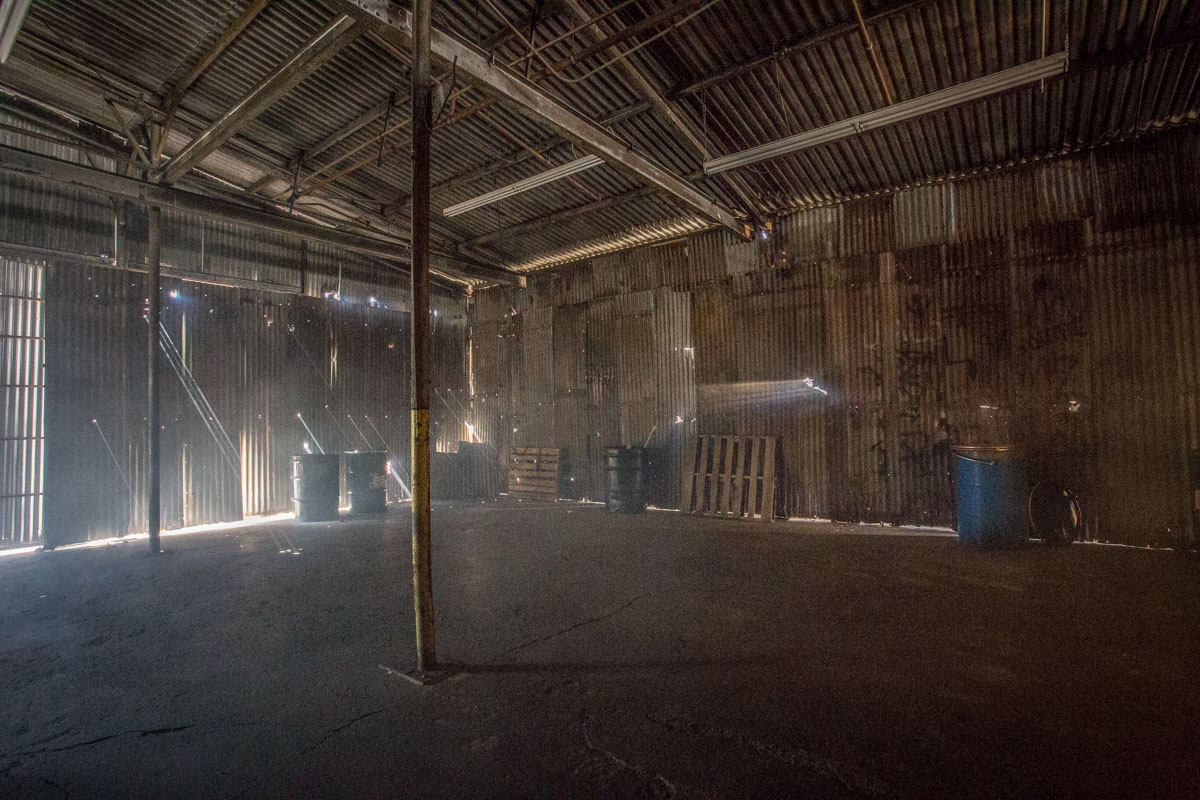 warehouse film location los angeles