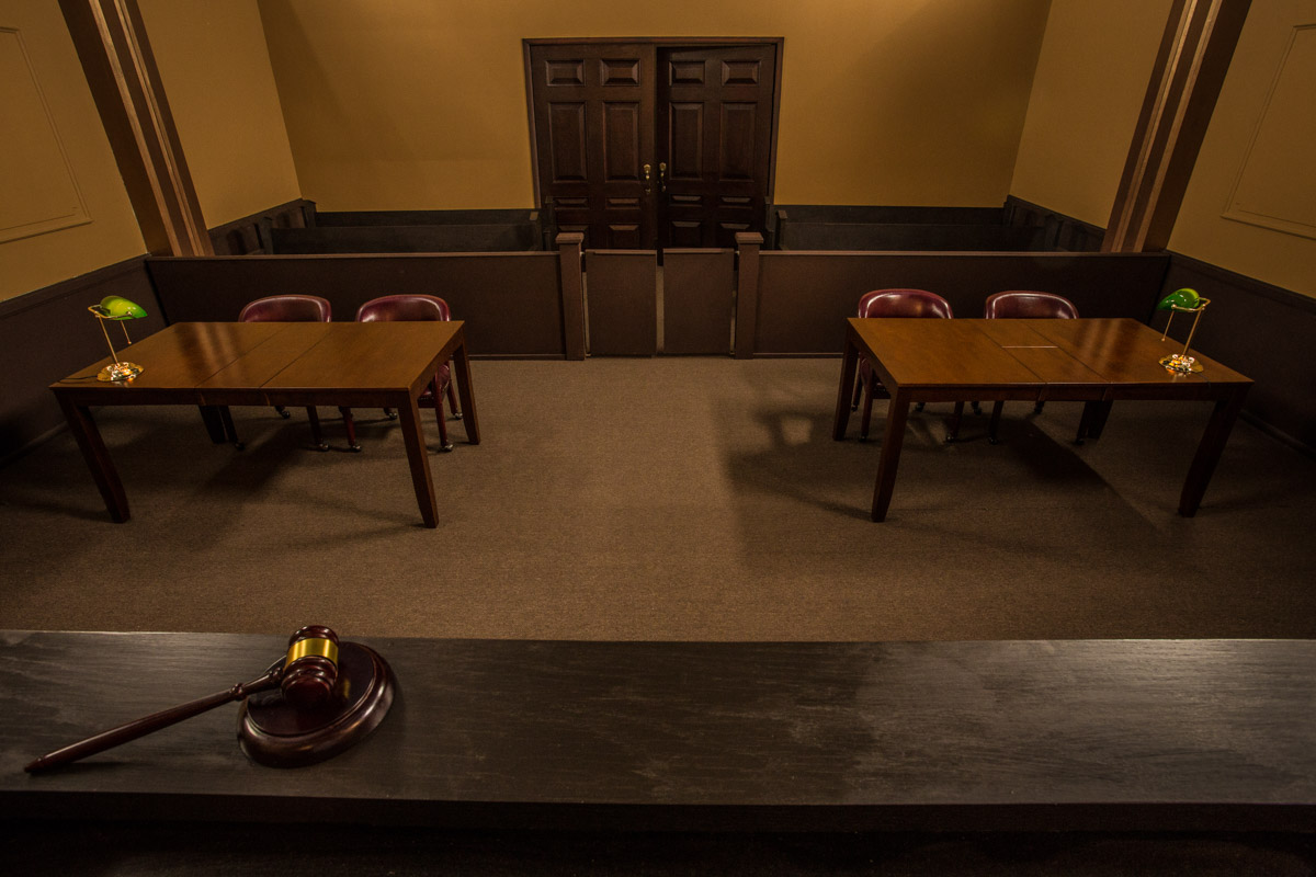 Courtroom Standing Set